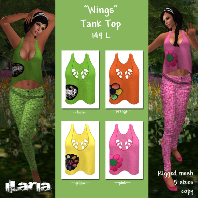 Wings-Tank-Top